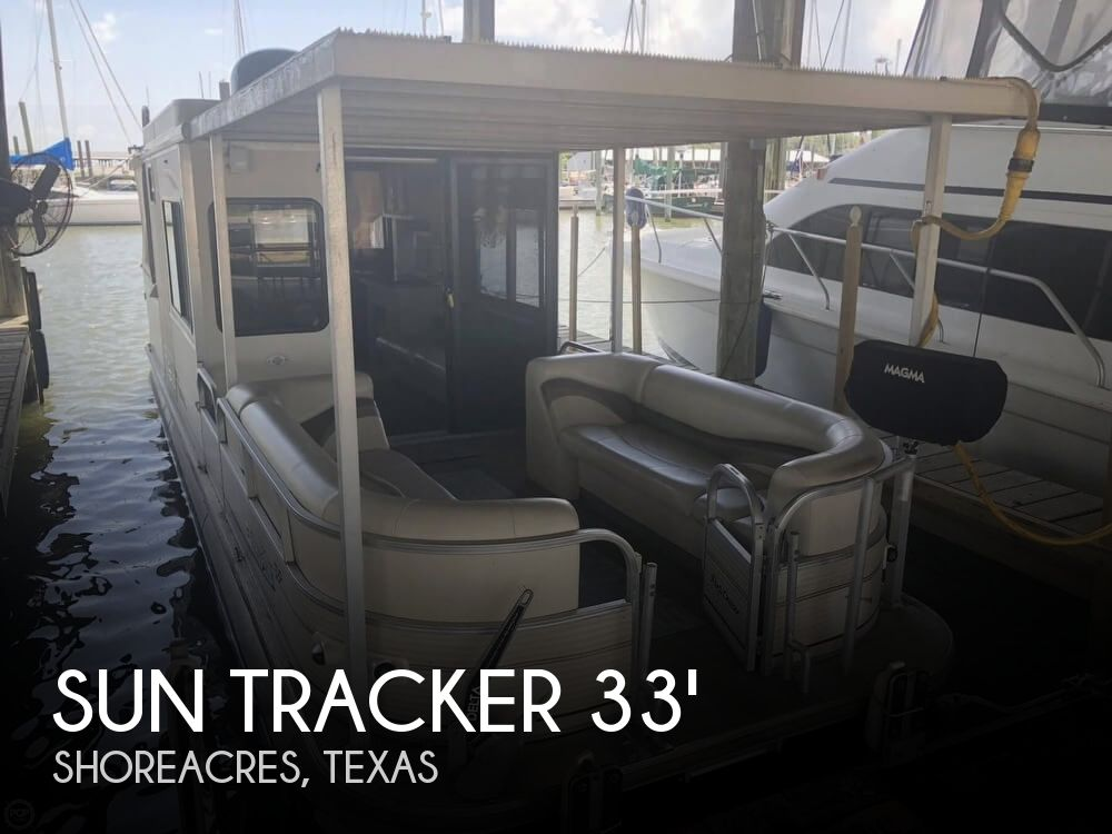 Used Tracker Boats For Sale in Texas by owner | 2006 33 foot Sun Tracker Regency Party Cruiser