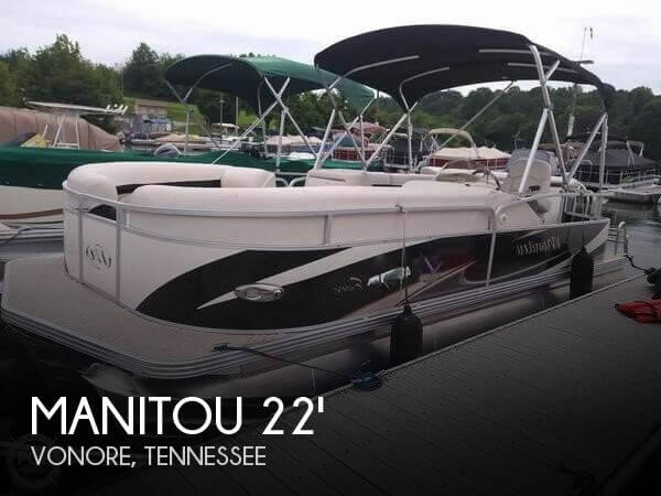 Used Manitou Boats For Sale by owner | 2010 Manitou 22 ENCORE LF2