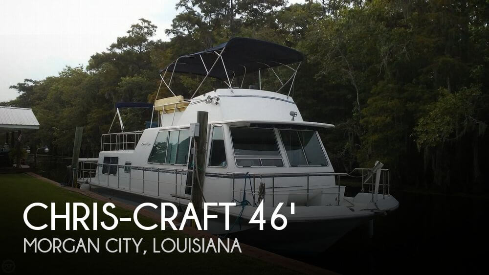 Used Chris-Craft Motoryachts For Sale by owner | 1984 Chris-Craft 46 Aqua Home Cruiser