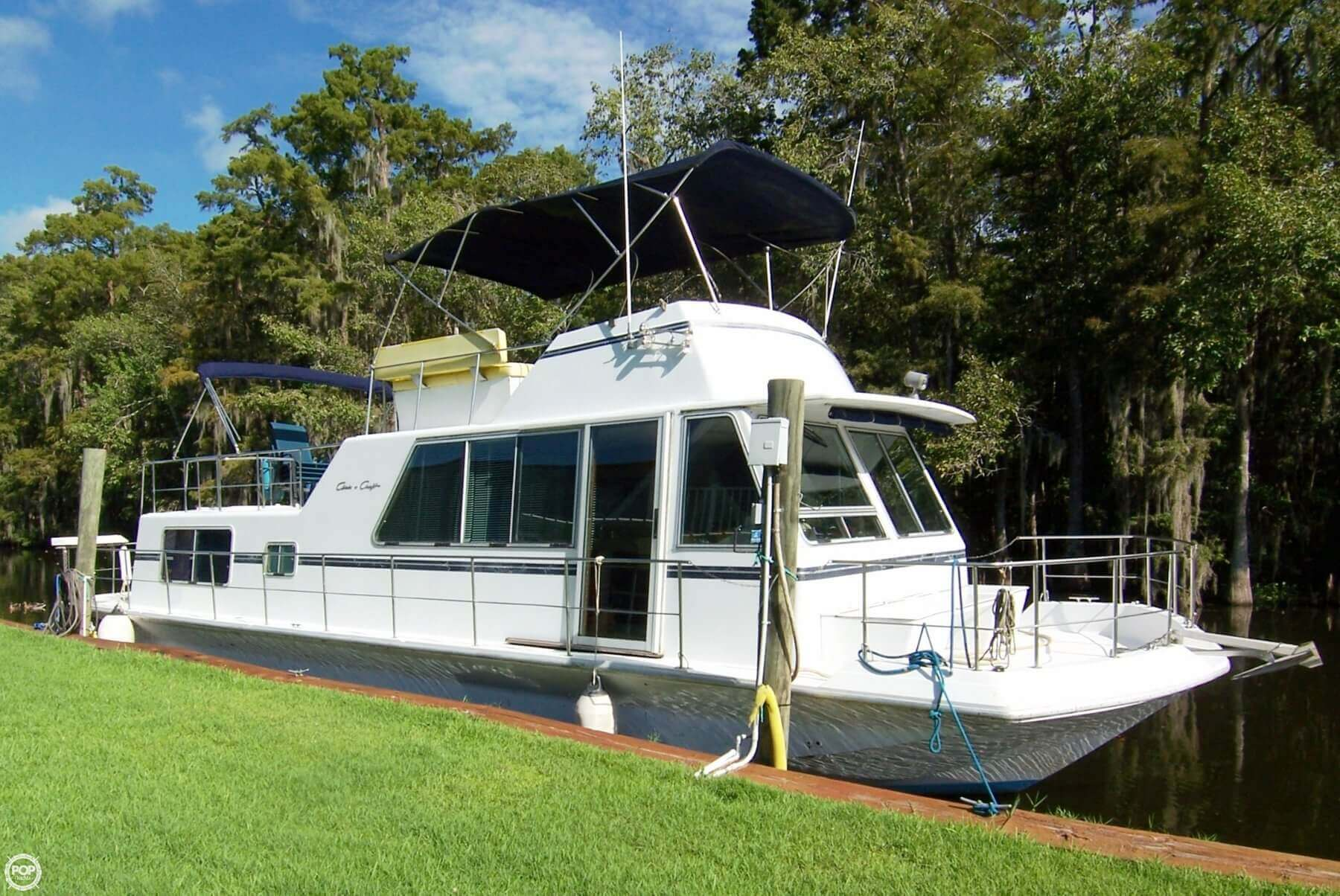 1985 Chris-Craft 46 Aqua Home - Twin Diesels For Sale