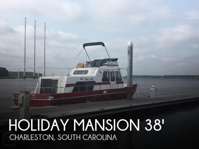 Used Holiday Mansion Houseboats For Sale by owner | 1997 Holiday Mansion 38