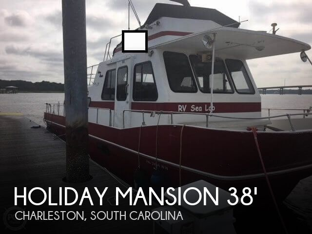 1997 Holiday Mansion boat for sale, model of the boat is 38 Barracuda & Image # 1 of 40