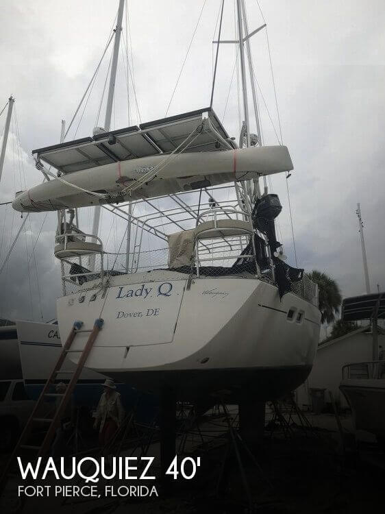 Used Boats For Sale in Port St. Lucie, Florida by owner | 2002 Wauquiez Pilot Salon 40