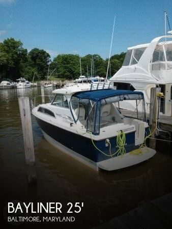 Used Bayliner Boats For Sale in York, Pennsylvania by owner | 2009 Bayliner 25