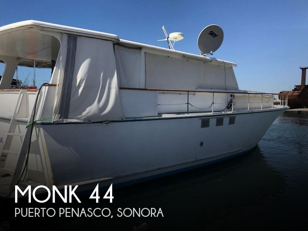 Used Monk Boats For Sale by owner | 1968 Monk 44