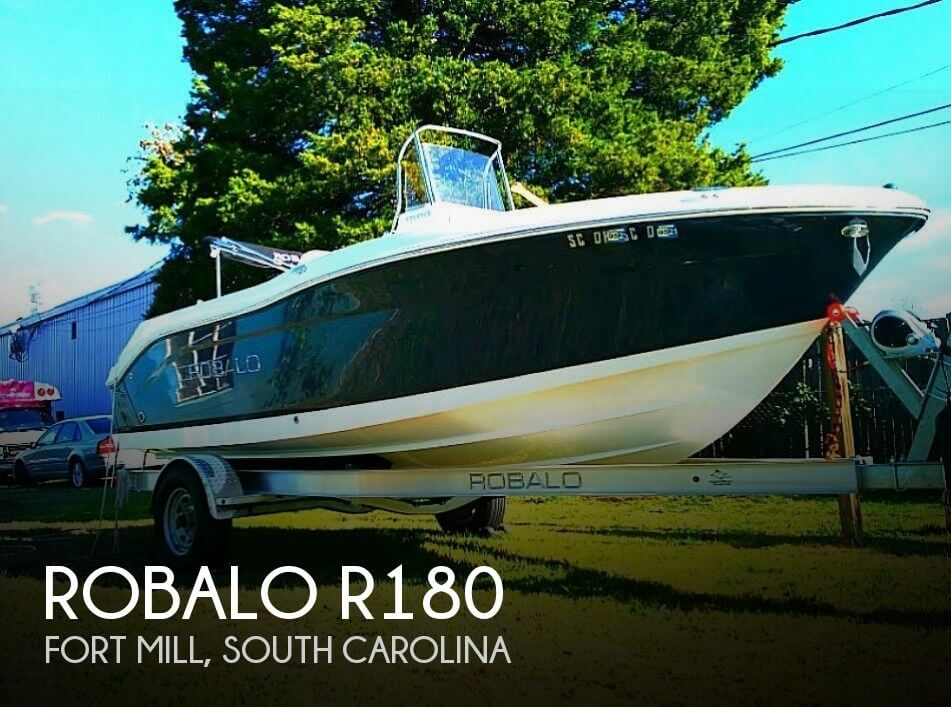 2017 Robalo boat for sale, model of the boat is R180 & Image # 1 of 6
