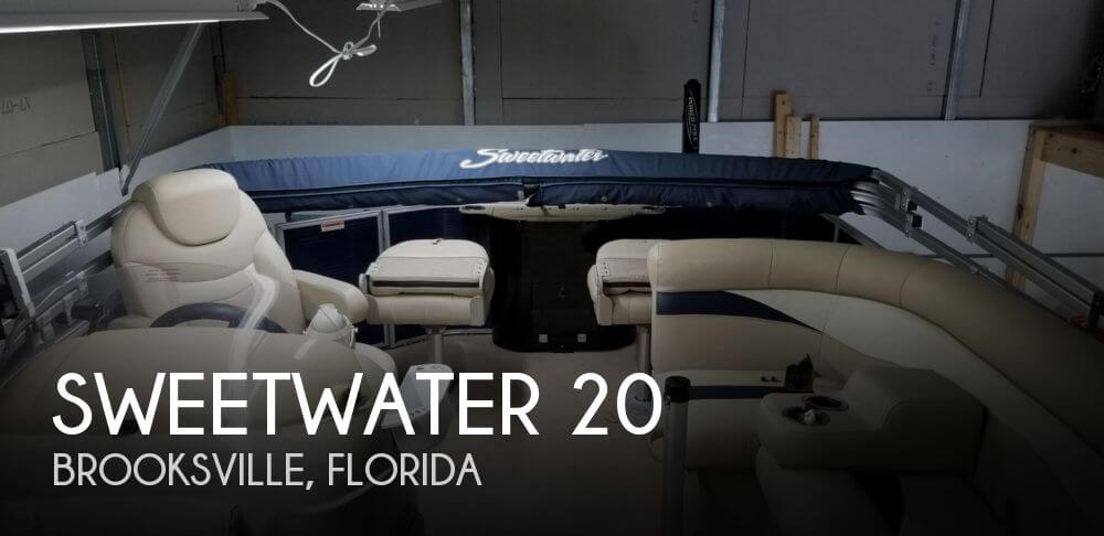 Used Pontoon Boats For Sale in Florida by owner | 2016 Sweetwater 20