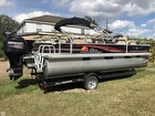 2013 Sun Tracker 22 Fishin Barge DLX - #1