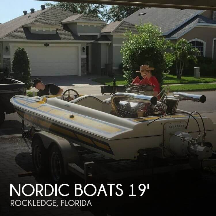 1978 Nordic Tugs boat for sale, model of the boat is Thor Tunnel Jet Boat & Image # 1 of 40