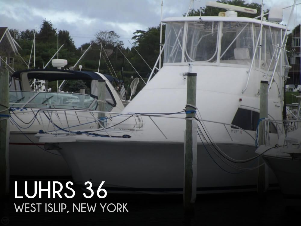 2007 Luhrs boat for sale, model of the boat is Convertible 36 & Image # 1 of 40