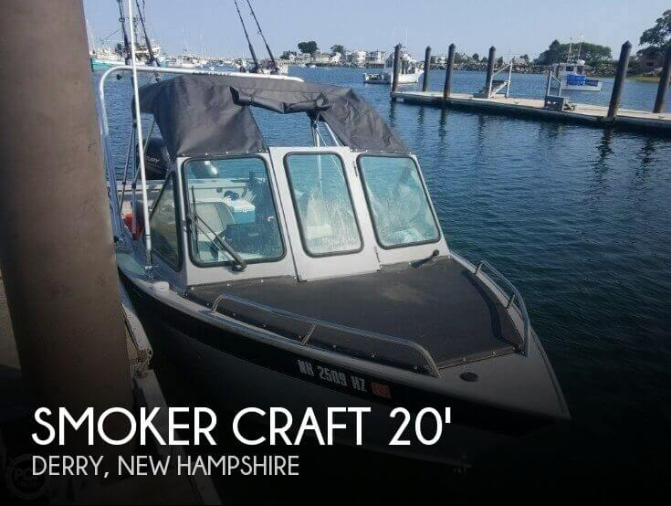 2016 Smoker Craft boat for sale, model of the boat is Phantom 202 OS & Image # 1 of 41