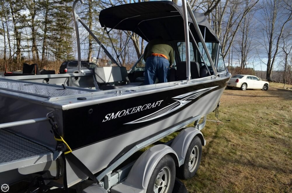 2016 Smoker Craft boat for sale, model of the boat is Phantom 202 OS & Image # 16 of 41