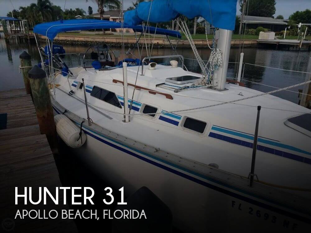 Used Hunter Sailboats For Sale in Florida by owner | 1987 Hunter 31