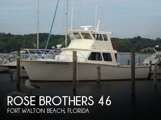 Used Boats For Sale in Pensacola, Florida by owner | 1978 Rose Brothers 46