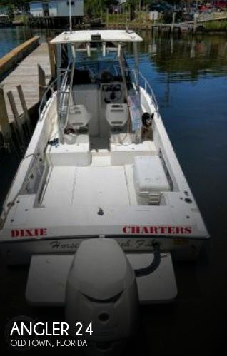 Used Angler Boats For Sale by owner   2000 Angler 24