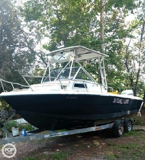 2000 American Angler boat for sale, model of the boat is 240 & Image # 5 of 41
