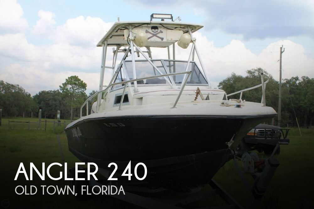 2000 American Angler boat for sale, model of the boat is 240 & Image # 1 of 41