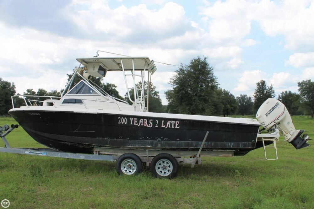 2000 American Angler boat for sale, model of the boat is 240 & Image # 9 of 41