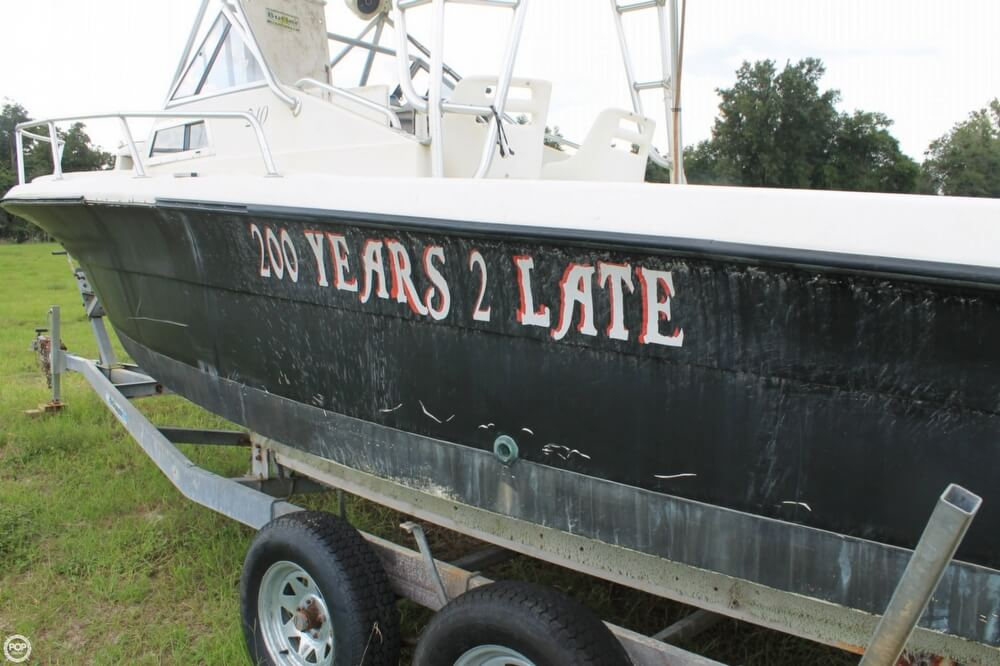 2000 American Angler boat for sale, model of the boat is 240 & Image # 18 of 41