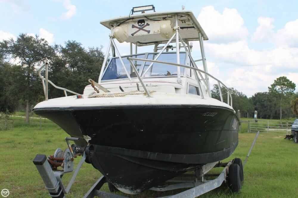 2000 American Angler boat for sale, model of the boat is 240 & Image # 3 of 41