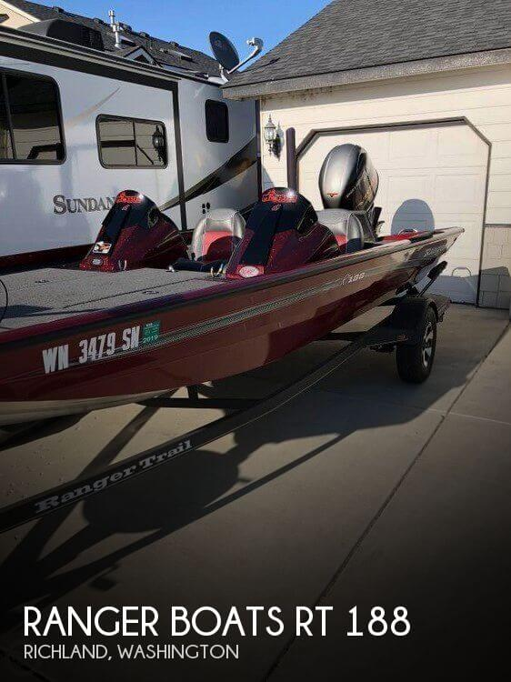 2017 RANGER BOATS RT 188 for sale