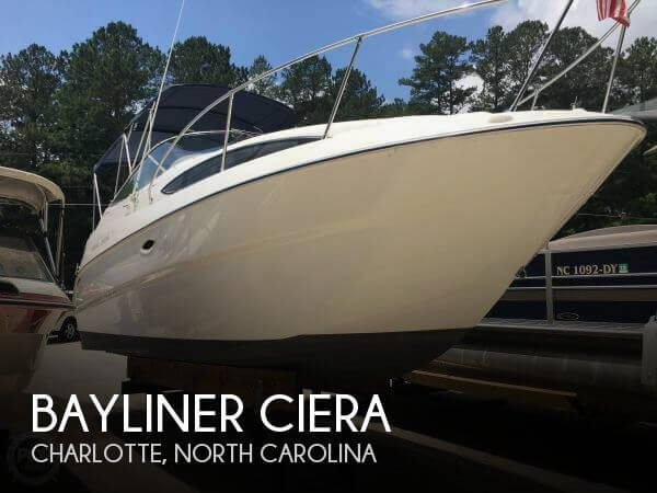Used Bayliner Boats For Sale in North Carolina by owner | 2002 24 foot Bayliner Ciera