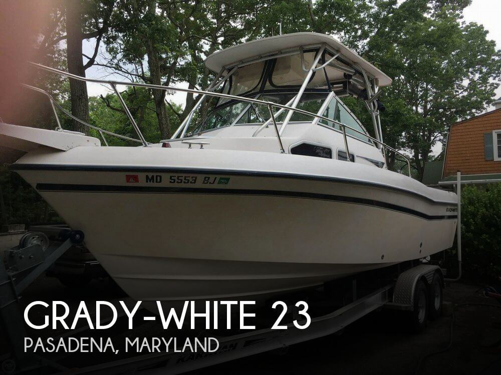Used Ski Boats For Sale in Maryland by owner | 2000 Grady-White 23
