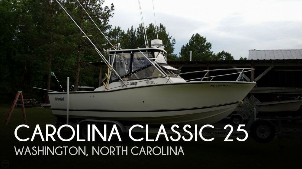 Used Boats For Sale in Rocky Mount, North Carolina by owner | 1998 Carolina Classic 25