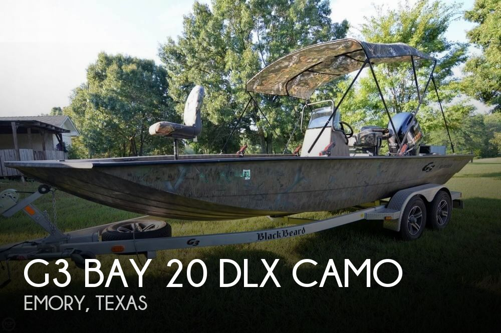 2014 G3 BOATS BAY 20 DLX CAMO for sale