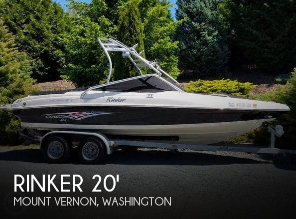 Used Rinker Boats For Sale in Washington by owner | 2005 Rinker 20