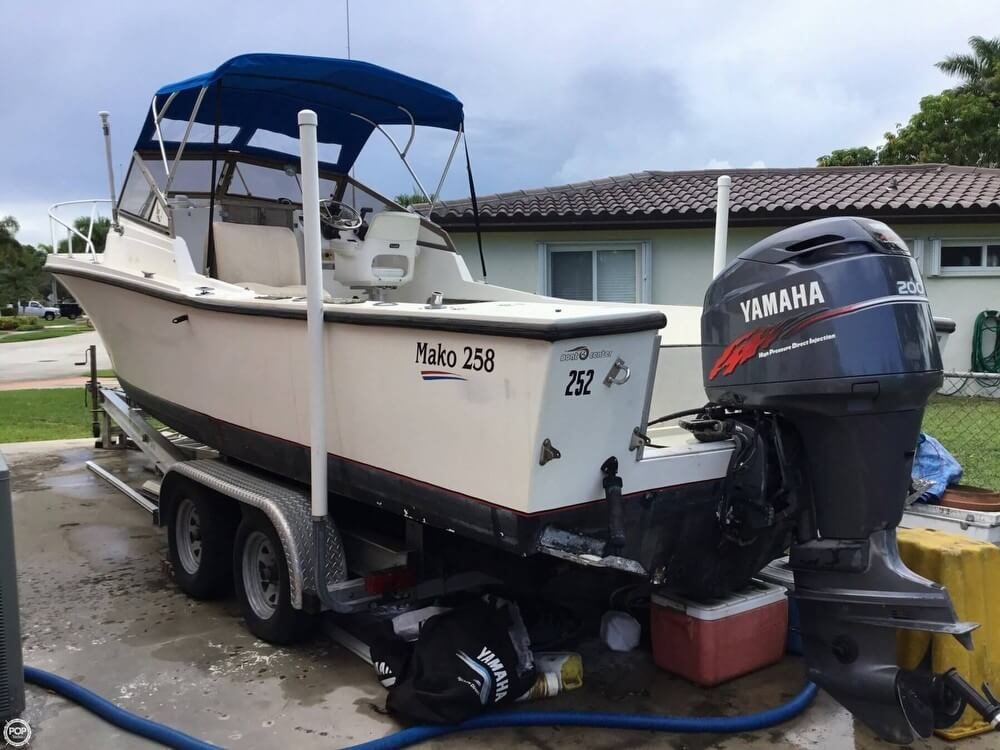 1986 Mako boat for sale, model of the boat is 258 & Image # 3 of 31