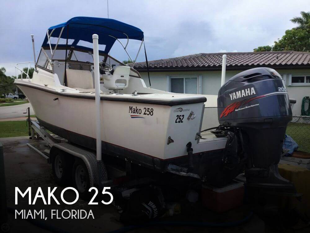 Used MAKO Boats For Sale in Florida by owner | 1986 Mako 25