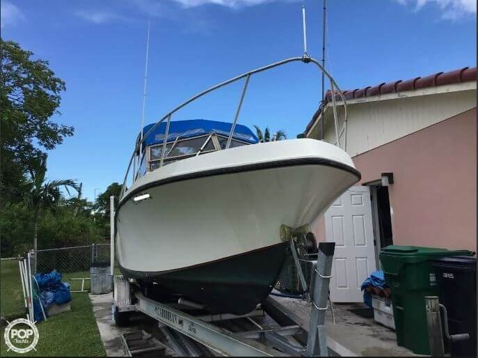 1986 Mako boat for sale, model of the boat is 258 & Image # 4 of 31