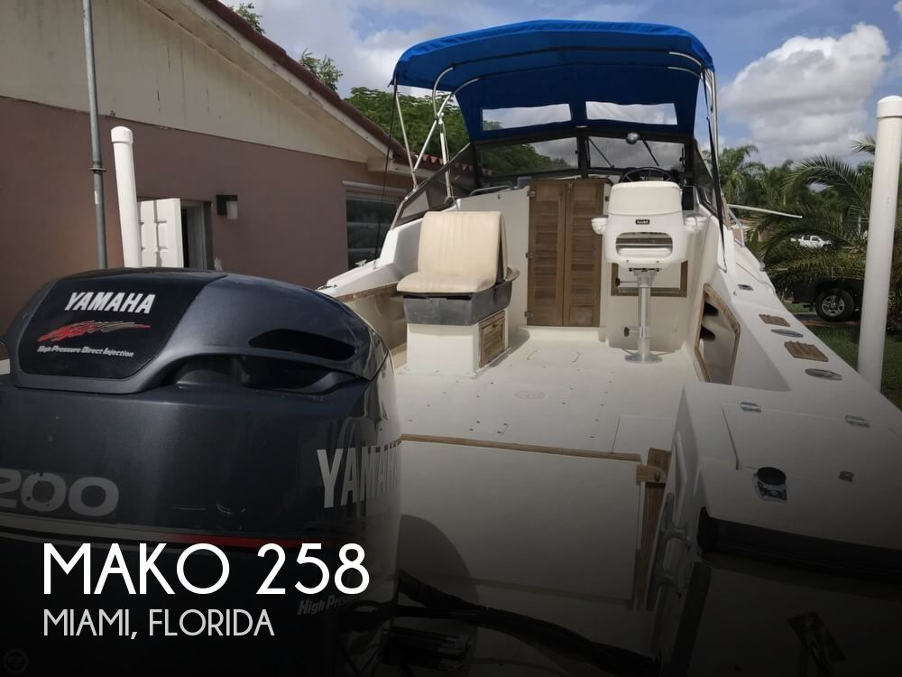 1986 Mako boat for sale, model of the boat is 258 & Image # 1 of 31