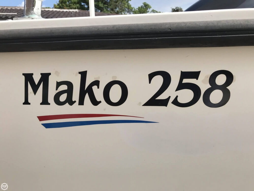 1986 Mako boat for sale, model of the boat is 258 & Image # 26 of 31