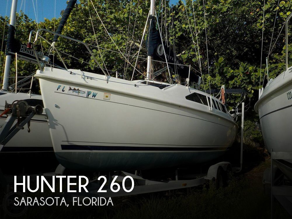 Used Hunter Sailboats For Sale in Florida by owner | 2005 Hunter 26