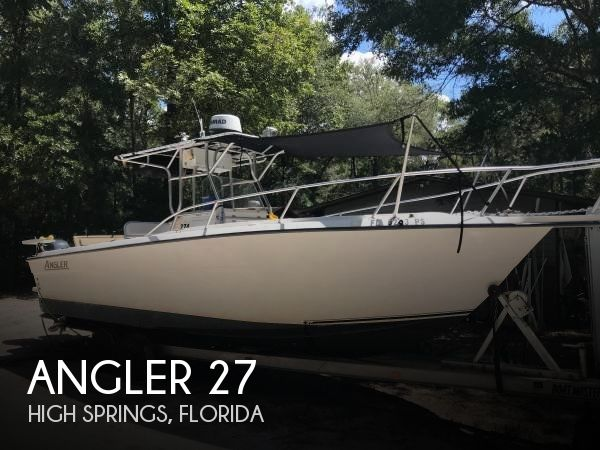 Used Angler Boats For Sale by owner | 2002 Angler 27