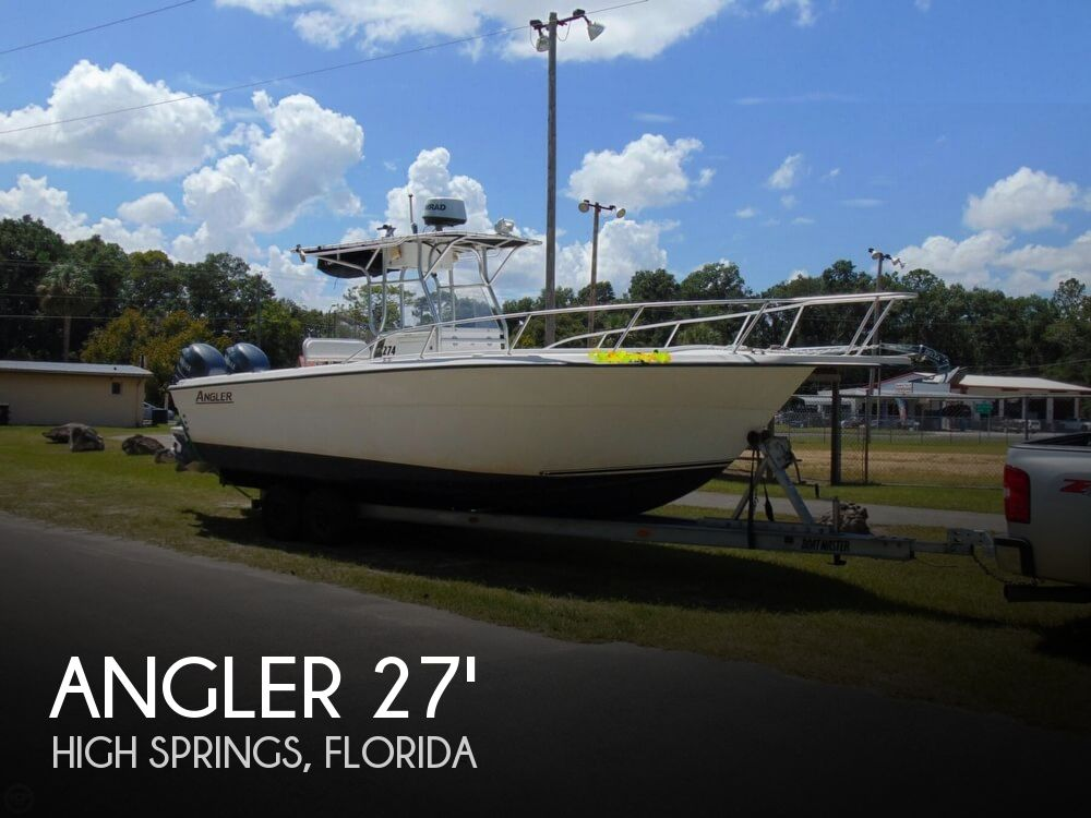 2002 AMERICAN ANGLER 274 CENTER CONSOLE for sale