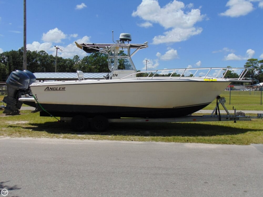 2002 American Angler boat for sale, model of the boat is 274 Center Console & Image # 4 of 40