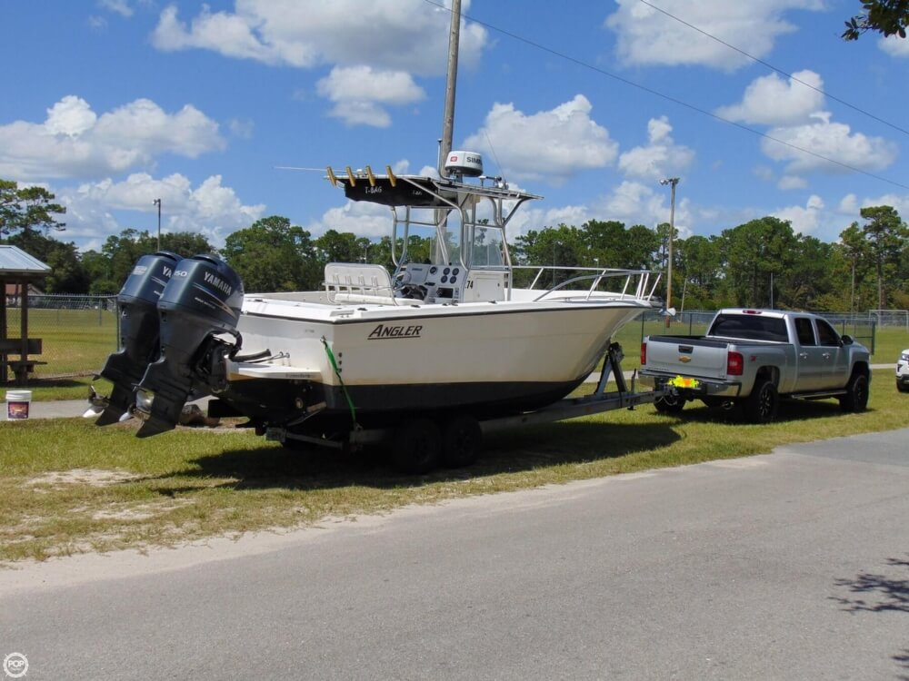 2002 American Angler boat for sale, model of the boat is 274 Center Console & Image # 5 of 40