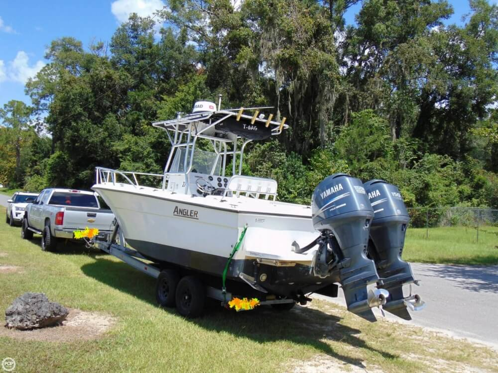 2002 American Angler boat for sale, model of the boat is 274 Center Console & Image # 2 of 40