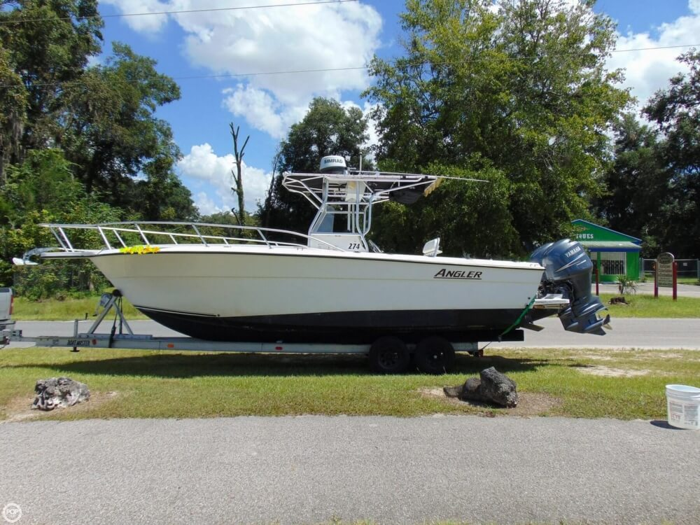 2002 American Angler boat for sale, model of the boat is 274 Center Console & Image # 7 of 40