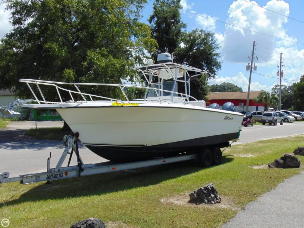 2002 American Angler boat for sale, model of the boat is 274 Center Console & Image # 8 of 40