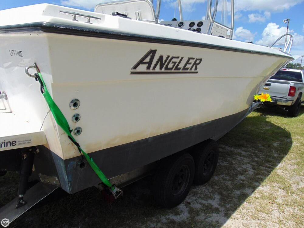 2002 American Angler boat for sale, model of the boat is 274 Center Console & Image # 24 of 40