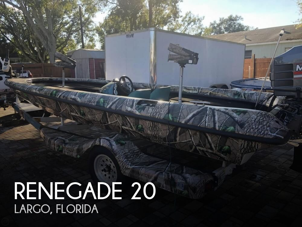 1994 Renegade boat for sale, model of the boat is 20 & Image # 1 of 40