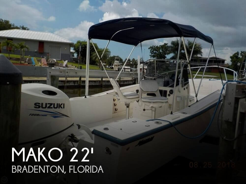 Used MAKO Boats For Sale in Florida by owner | 1996 Mako 21 Center Console
