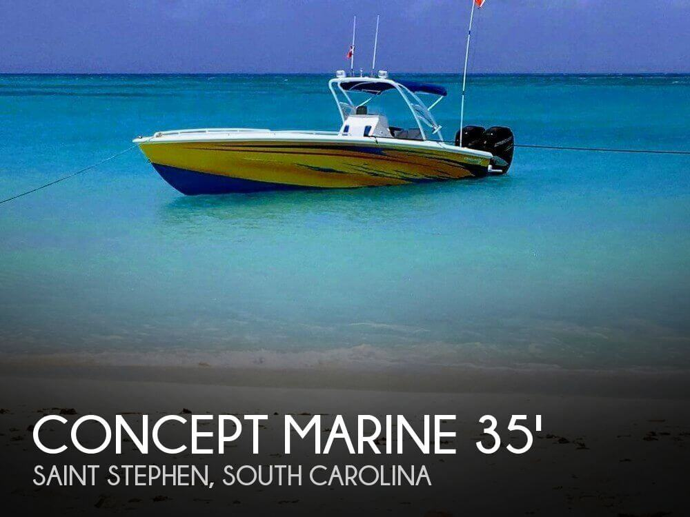 Used Boats For Sale in Myrtle Beach, South Carolina by owner | 2005 Concept Marine 35