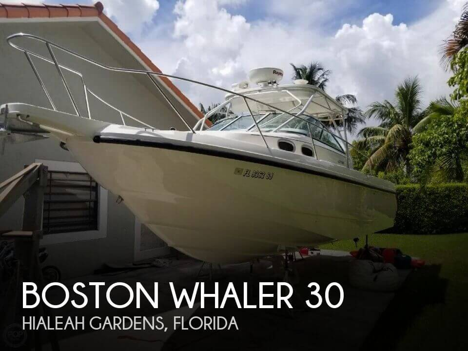 Used Boston Whaler Boats For Sale in Florida by owner | 1999 Boston Whaler 30