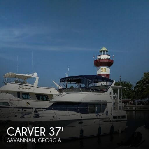 Used Boats For Sale in Georgia by owner | 1995 Carver 37