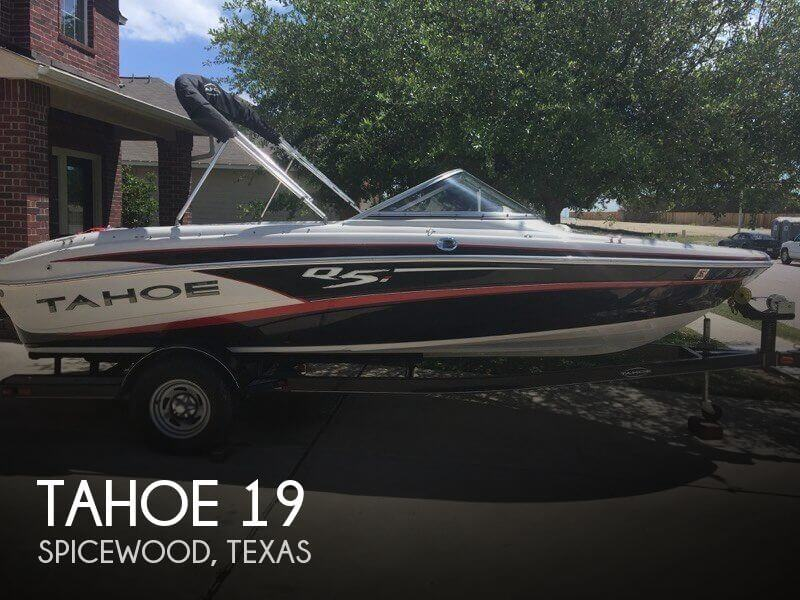 Used Tahoe Boats For Sale in Texas by owner   2014 Tahoe 19